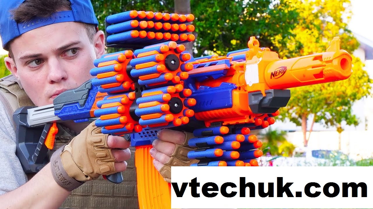 Nerf Permainan Tembak-Tembakan Untuk Mengasah Kelincahan Anak